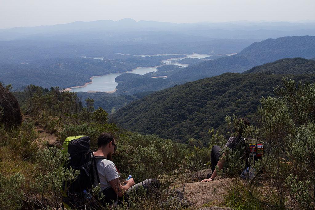 Vista trilha - Pico Paraná 11