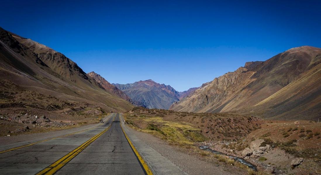 Paisagens surpreendentes no caminho de Santiago a Mendoza