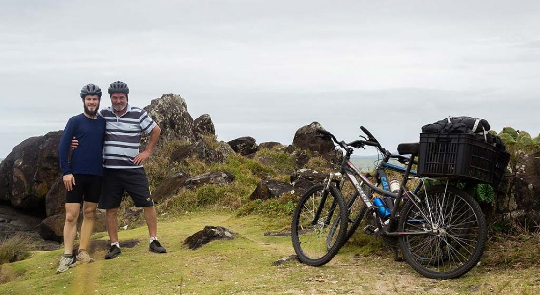 Cicloturismo – Viagem pelo litoral norte de SC – Dia 2