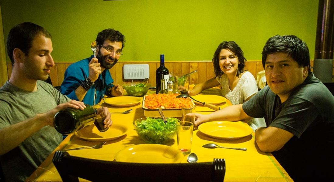 Couchsurfing, comida boa e descanso na capital Coyhaique