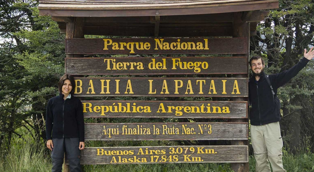 Parque Nacional Tierra del Fuego – Final da Ruta 3