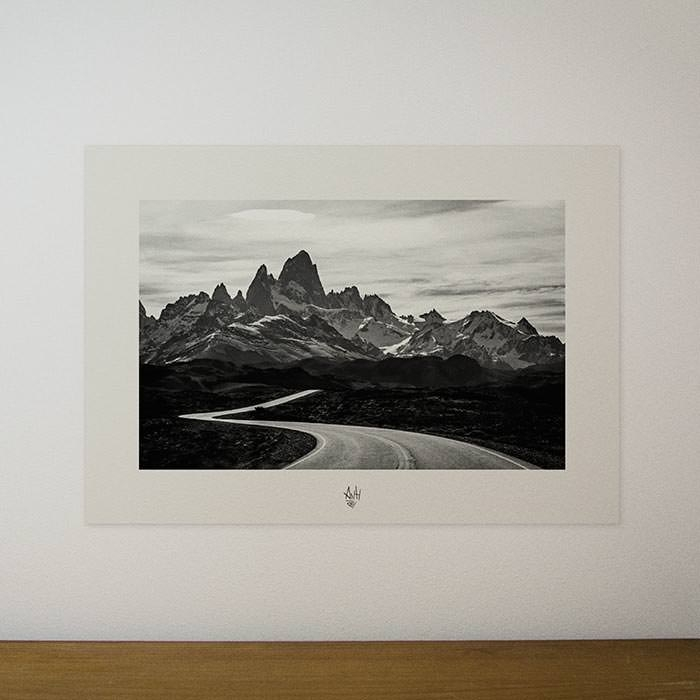 Quadro / Pôster – Chegada a El Chaltén