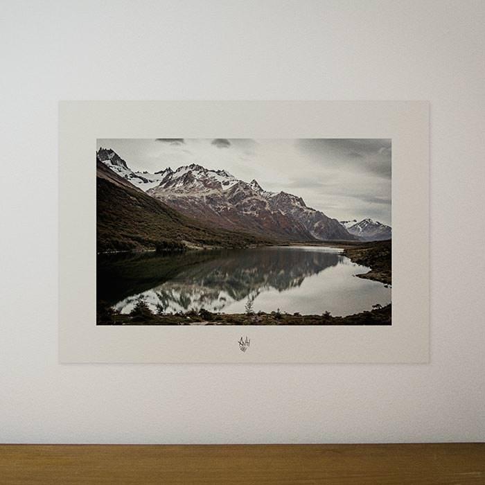 Quadro / Pôster – Espelho – Laguna Madre
