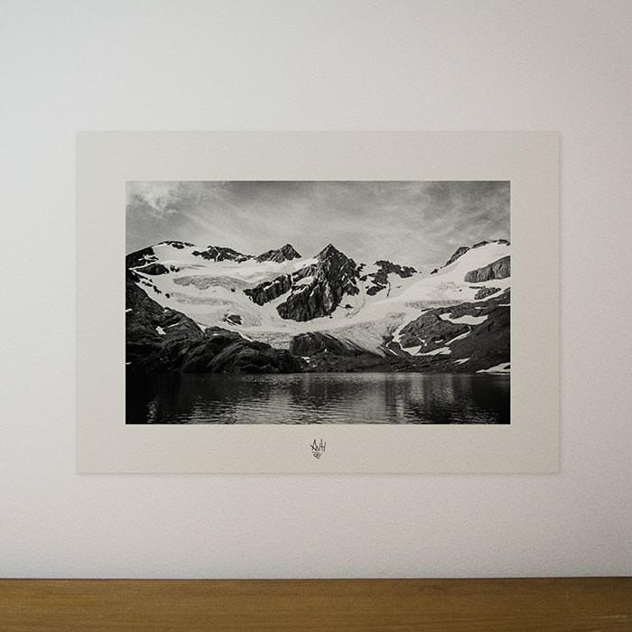 Quadro / Pôster – Laguna de los Tempanos
