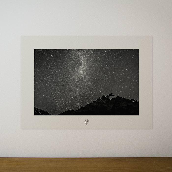 Quadro / Pôster – O Universo e a Noite