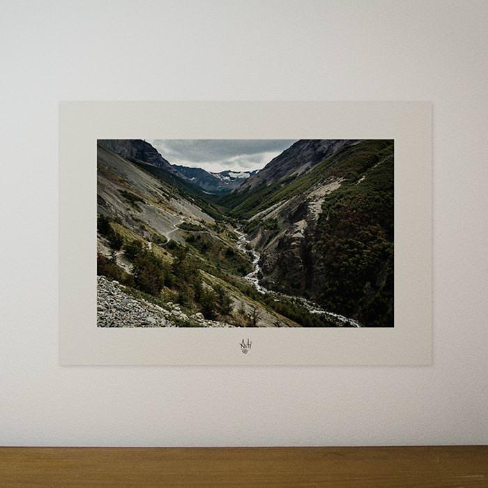 Quadro / Pôster – Vale Ascencio – Torres del Paine