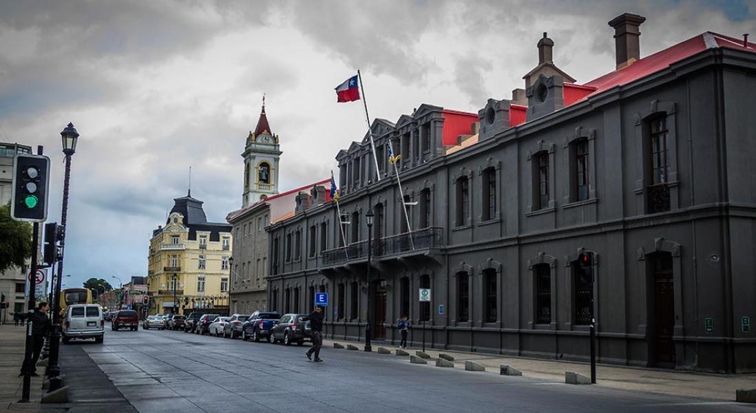 A passagem rápida por Punta Arenas