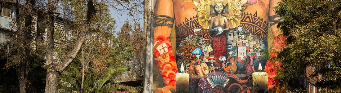 Museo a Cielo Abierto: arte e coletividade nas ruas de Santiago